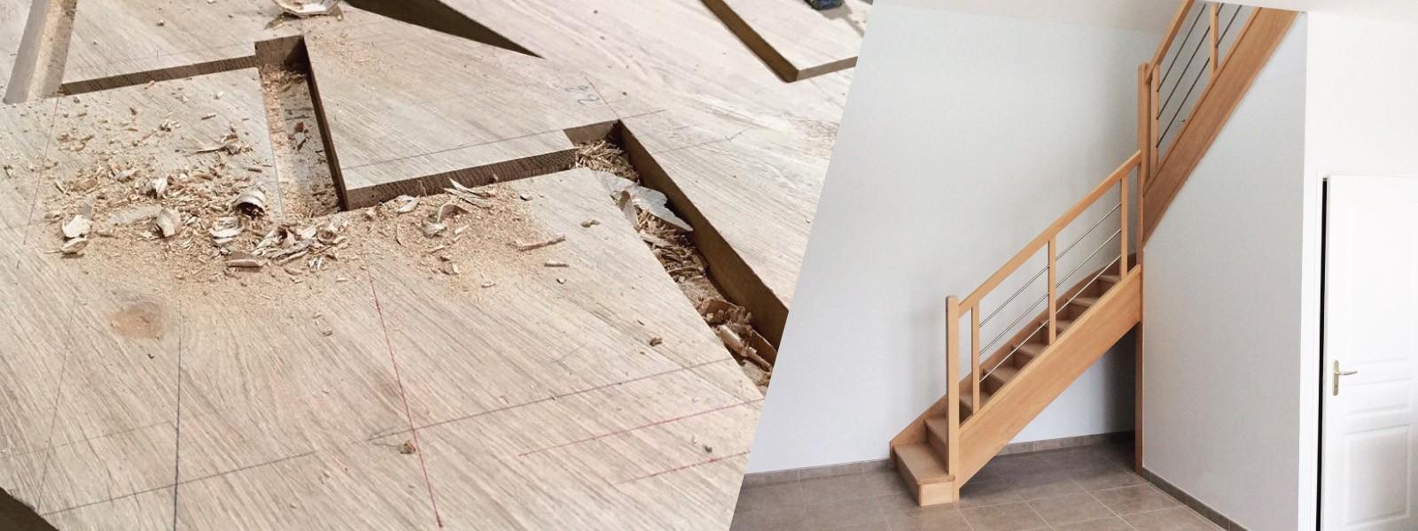 Fabricant français d'escaliers sur mesure bois métal et verre
